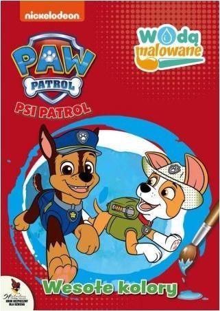 Psi Patrol. Wodą malowane. Wesołe kolory-318985