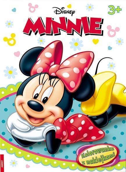Minnie. Kolorowanka z naklejkami-314672