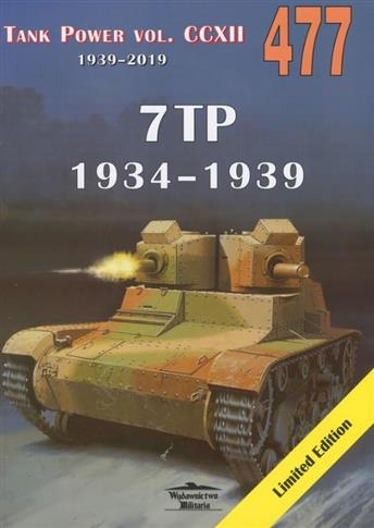 7TP 1934-1939. Tank Power vol. CCXII nr. 477-347269