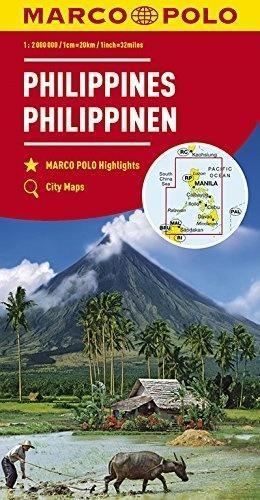 Mapy kontynentalne Filipiny 1:2 mil. MARCO POLO