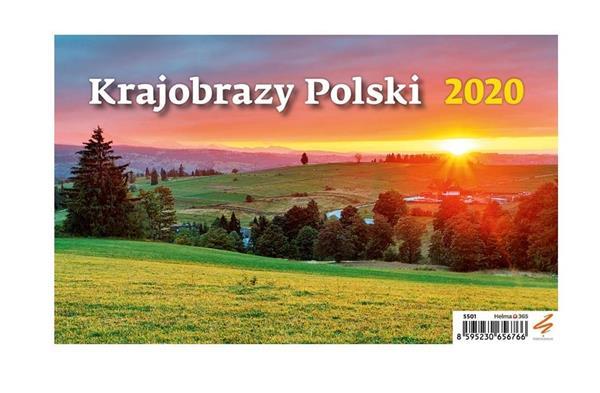 Kalendarz 2020 Biurkowy Krajobrazy Polski