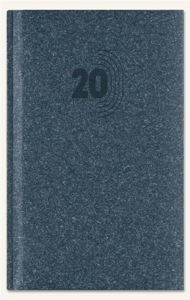 Kalendarz 2020 Notesowy A6 Classic granat eco