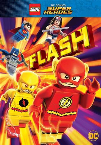 Lego DC Super Heroes. Flash DVD