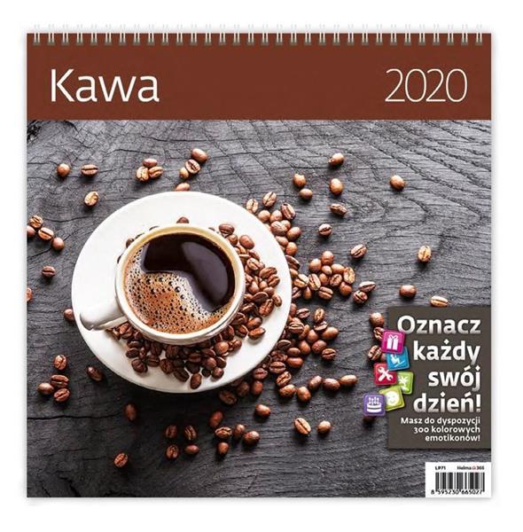 Kalendarz 2020 Kawa 30x30cm NARCISSUS