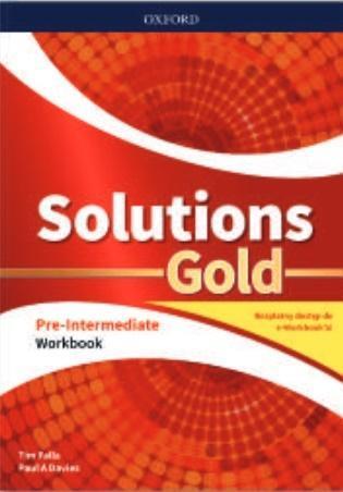 SOLUTIONS GOLD. PRE-INTERMEDIATE. WORKBOOK Z KODEM
