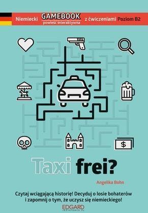 Niemiecki GAMEBOOK z ćwiczeniami Taxi frei? outlet