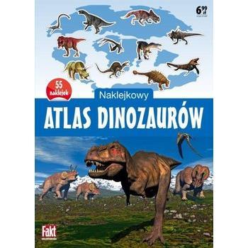 Naklejkowy atlas dinozaurów OUTLET