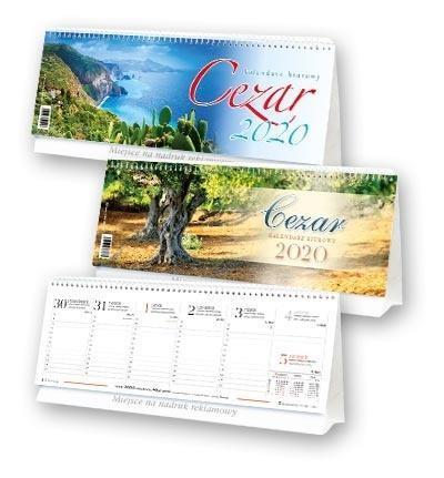 Kalendarz 2020 Biurowy Cezar BF1 MIX