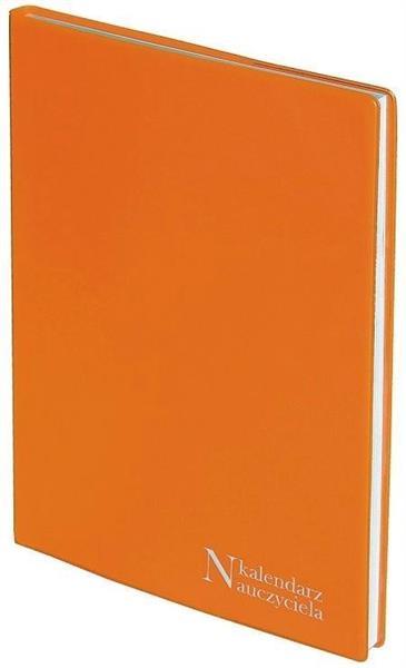 Kalendarz Nauczyciela A5 2019/2020 PCV pomarańcz
