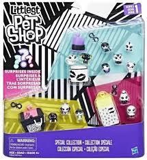 Littlest Pet Shop Black&White C2894 Zestaw 13 Zwie