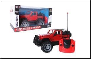 Jeep RC z ładowarką