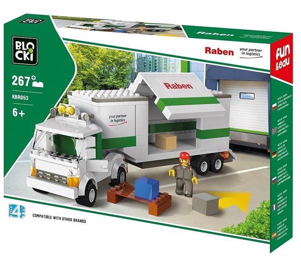 Klocki Blocki Raben Long Truck