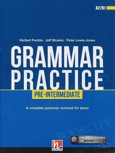 Grammar Practice Pre-Intermediate A2/B1 + e-zone