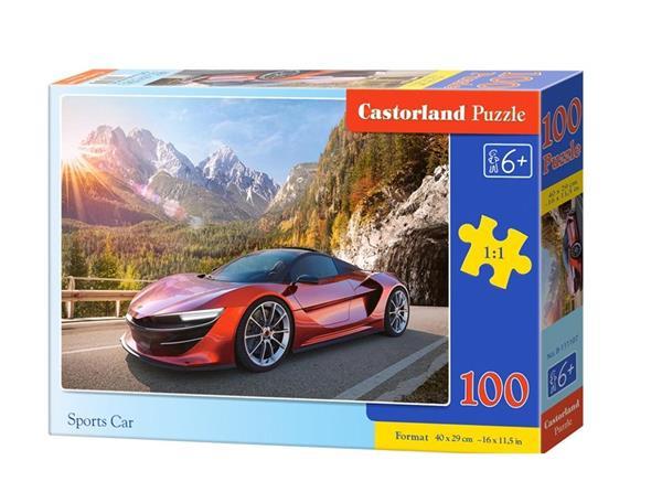 Puzzle 100 Sports Car CASTOR