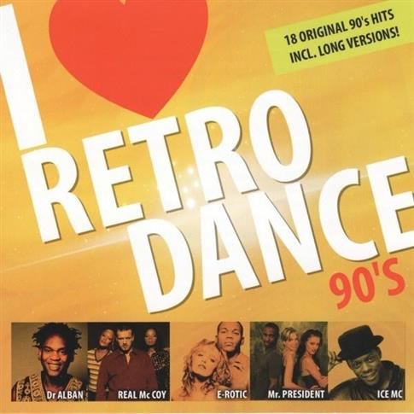 I love retro dance 90's CD