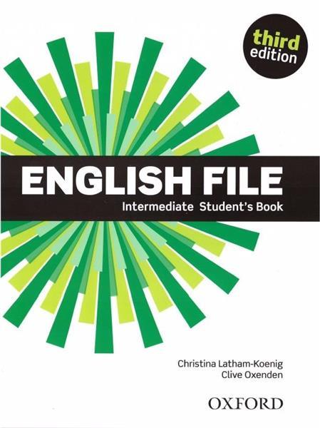 English File 3E Intermediate SB OXFORD