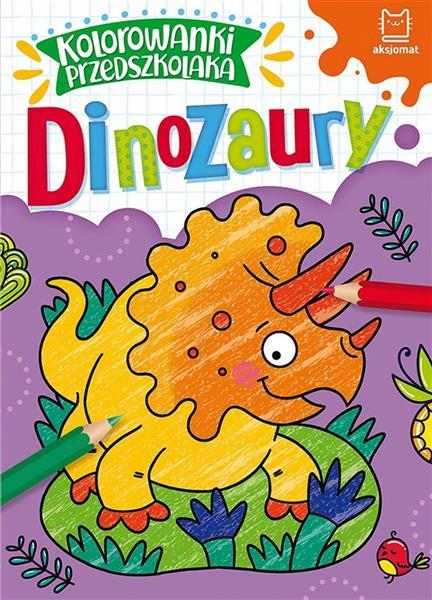 Kolorowanki przedszkolaka. Dinozaury