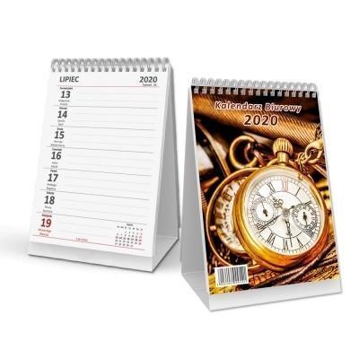 Kalendarz 2020 biurowy pionowy - spirala SB3-1