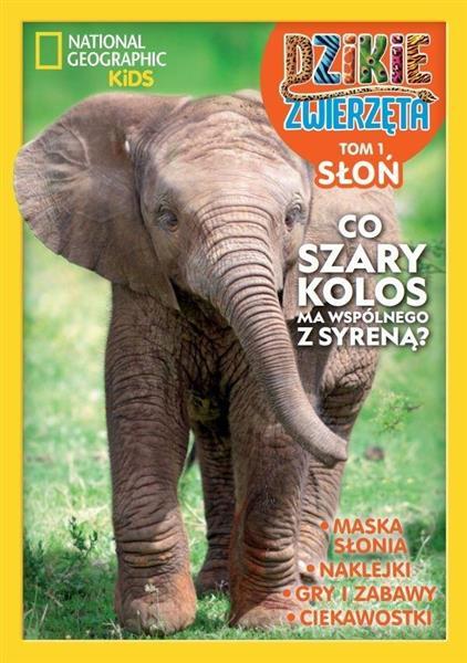 Dzikie zwierzęta T.1 Słoń