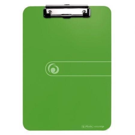 Deska z przyciskiem A4 zielona