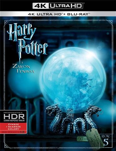 Harry Potter i Zakon Feniksa (2 Blu-ray) 4K