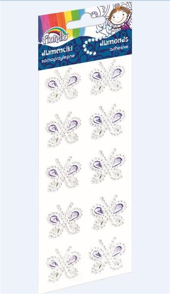 Diamenciki samoprzylepne motyl GR-DS089 FIORELLO
