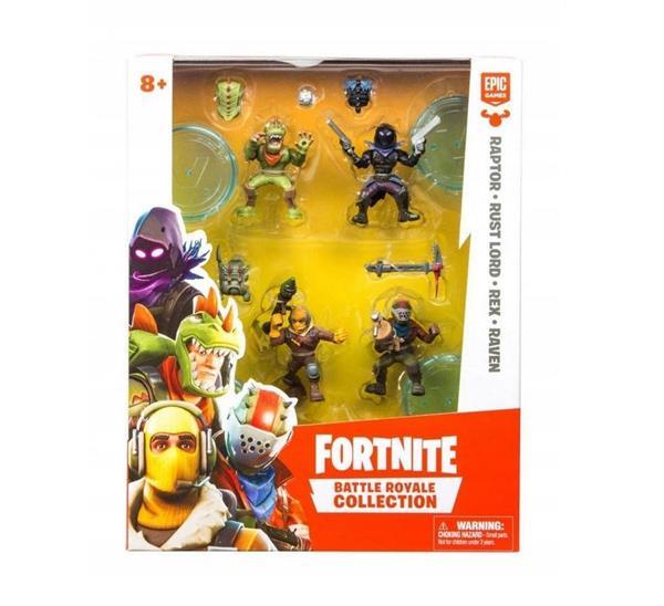 Fortnite - figurki z akcesoriami 4pak