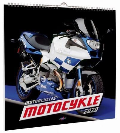 Kalendarz Ścienny Duży KD-1 MOTOCYKLE OUTLET