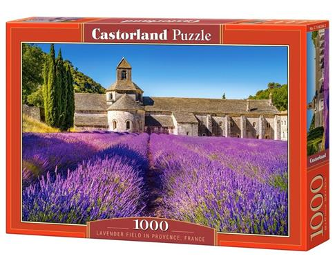 Puzzle 1000 Lavender Field in Provence CASTOR