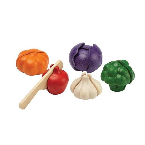 Zestaw warzyw w 5 kolorach