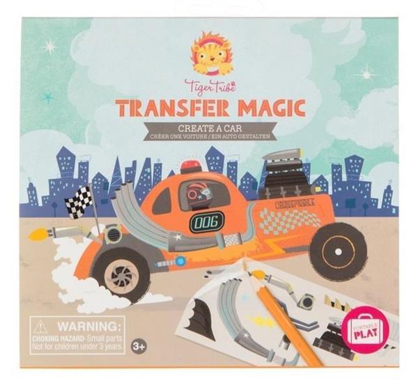Zdrapywanki Transfer Magic - Stwórz Samochód