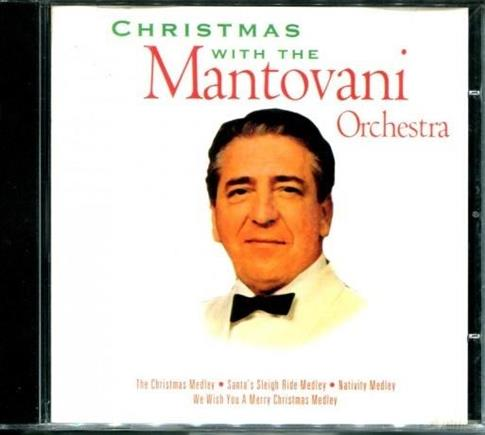 Christmas with Mantovani Orchestra CD