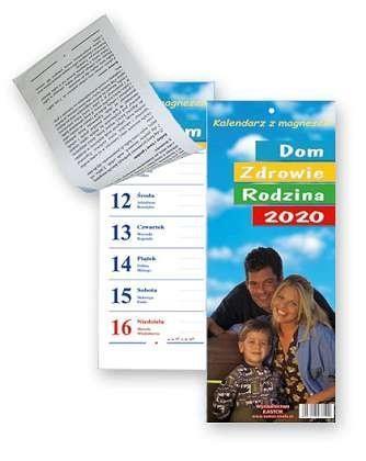 Kalendarz zdzierak 2020 - Dom, zdrowie rodzina KL1