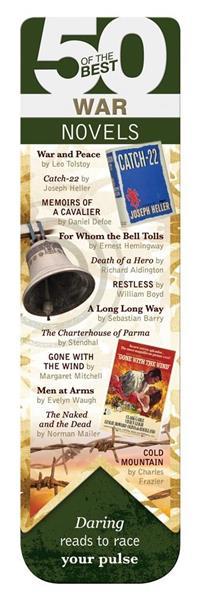 50 BEST - War - magnetyczna zakładka do książki