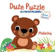 Duże puzzle dla małych paluszków - Maluchy