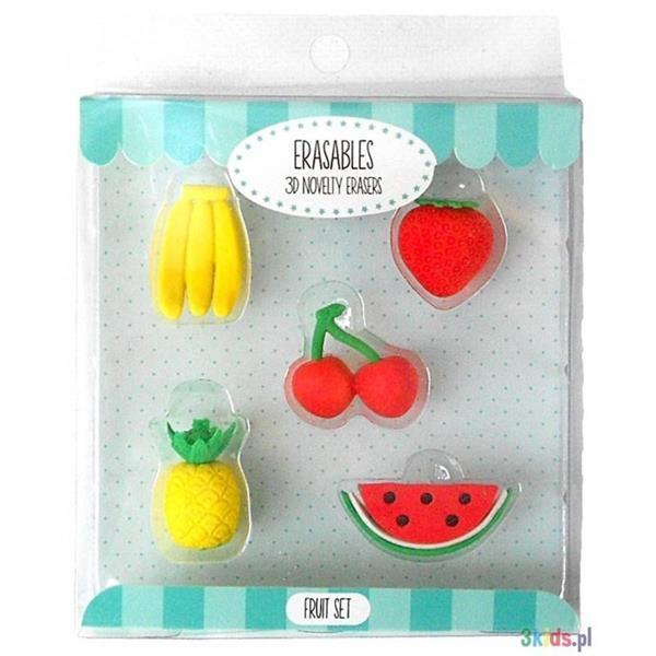 Gumki do mazania - Owoce
