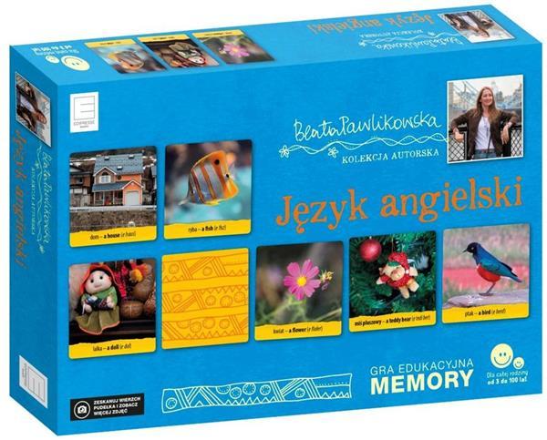 GRA MEMORY JĘZYK ANGIELSKI  OUTLET