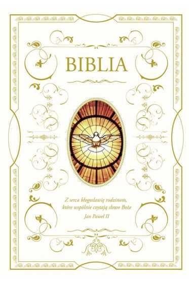 Biblia domowa 2019 z wizerunkiem Ducha Świętego