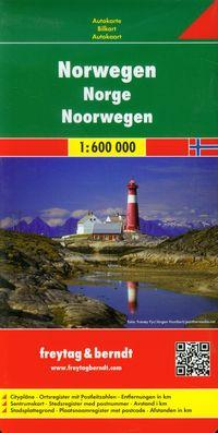 NORWEGIA MAPA 1:600 000outlet
