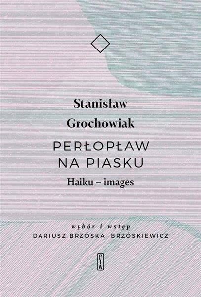 Perłopław na piasku. Haiku - images