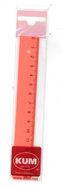Linijka 15cm neon KUM