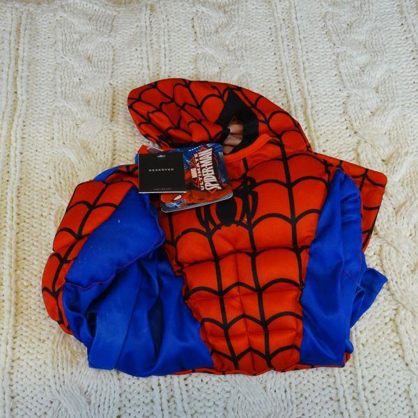 Kostium SPIDER-MAN MARVEL RESERVED, rozm 122/128