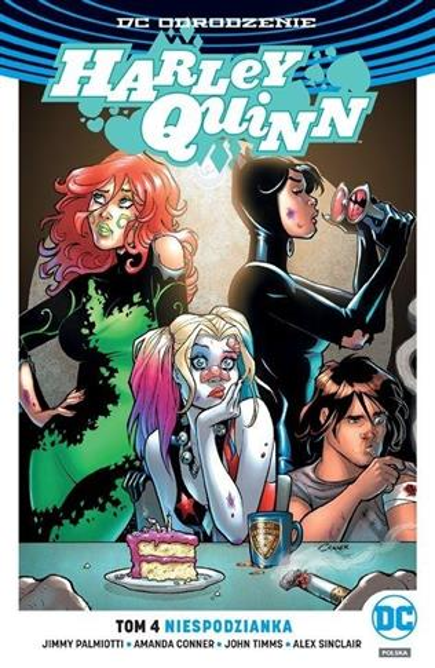 Harley Quinn T.4 Niespodzianka