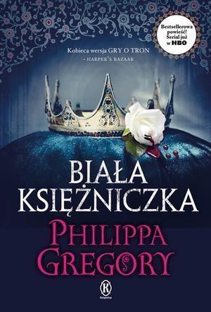 Biała księżniczka (okładka serialowa)