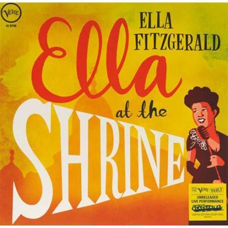 PŁYTA WINYLOWA ELLA FITZGERALD ELLA AT THE SHRINE