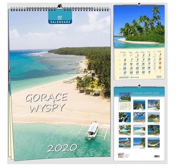 Kalendarz 2020 7 Plansz B3 - Gorące wyspy EV-CORP