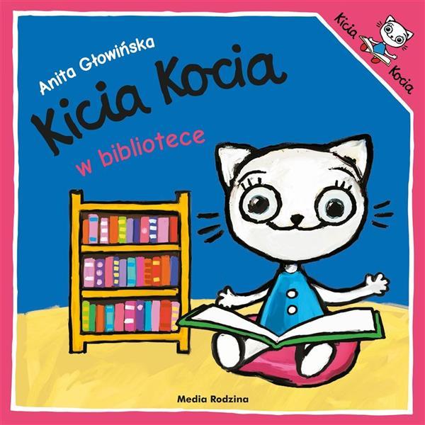 Kicia Kocia w bibliotece w.2019