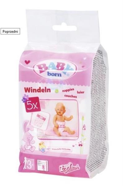 Baby born - pieluchy 5-pak