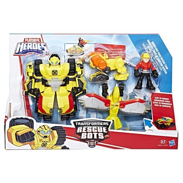 Hasbro.  Transformers Rescue Bots. Drużyna Bumbleb