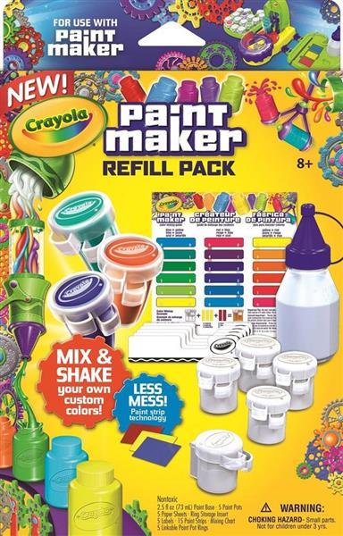 Paint Maker zestaw uzupełniający CRAYOLA